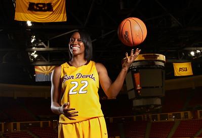 ASU Girls Basketball Arena Portraits