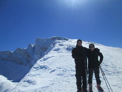 Icy ski Touring 25 Feb 2015