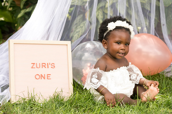 Zuri's 1st Birthday Photo Session