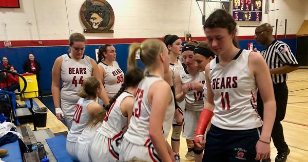 Tri-Valley vs Ellenville Girls Basketball Senior Night