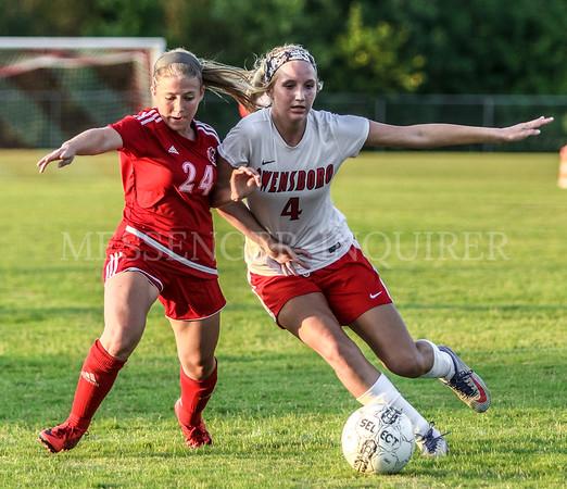 DCHS vs OHS Girls Soccer - 8-13-19 - Messenger-Inquirer