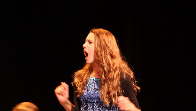 NNHS Drama Backstage Candids and Video