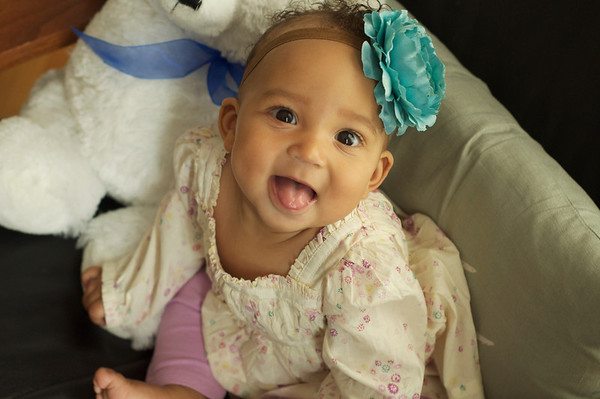 October 2012 - Carter is 7 months old