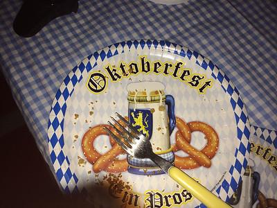 Oktoberfest noelle and Steve's
