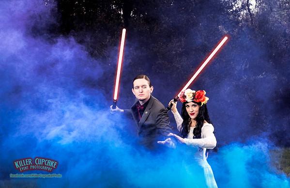 Lily & Lance's Star Wars Wedding