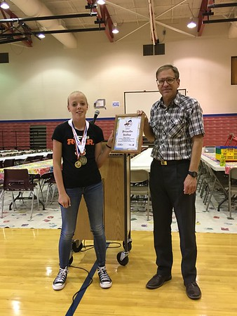 UCMS Orienteering awards - May 19 and 22