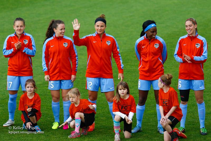 Andressa, Allysha Chapman, Amber Brooks, Chioma Ubogagu, and Morgan Brian - Player Introductions (14 May 2016)