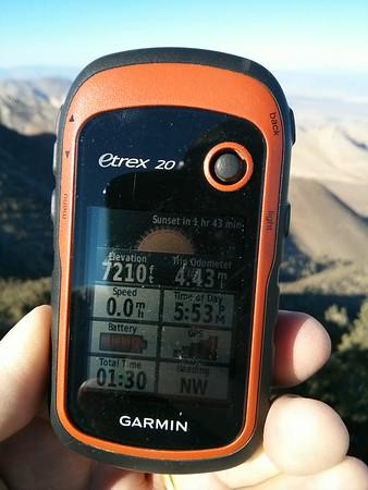Morris Peak After Work - August 20, 2014