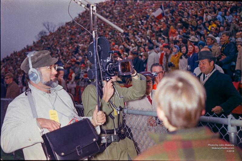 At Razorback Stadium before the game