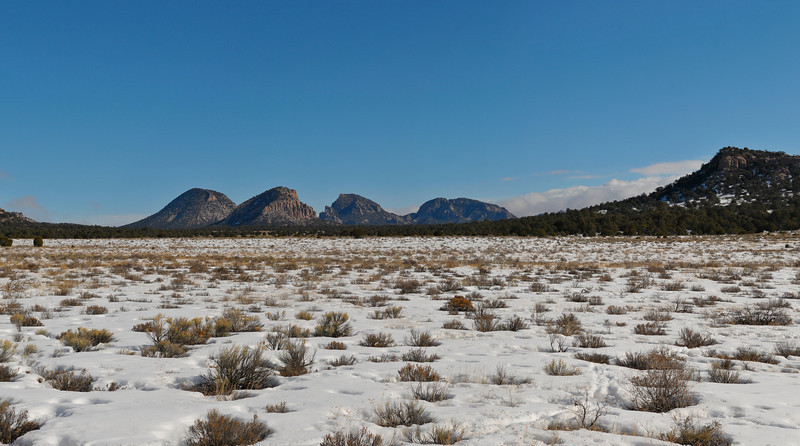 Sawtooth Mountains, Cibola National Forest, New Mexico