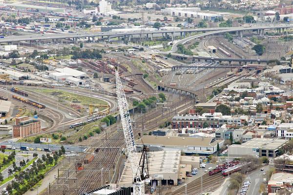 Railways around Melbourne
