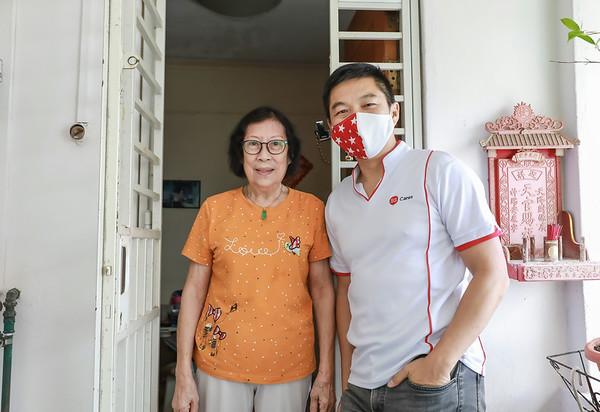 091920 Advisor Visit blk 44 Chai Chee ST