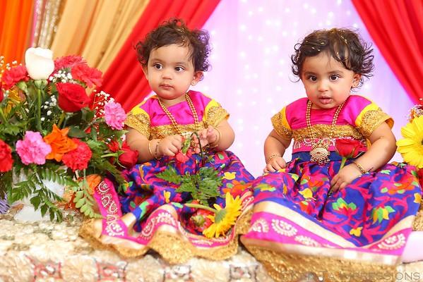 Vedha & Vibha 1st Birthday Celebration