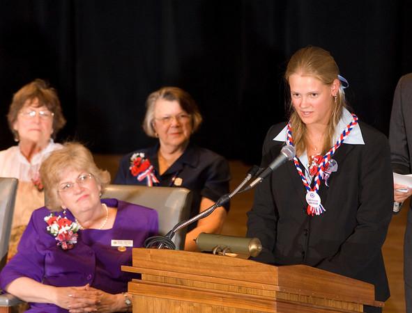 Girls State Inauguration Ceremony