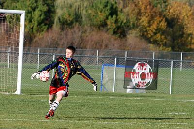 Boys JV Soccer - 2010-2011 - 9/28/2010 Big Rapids