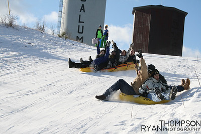 Calumet Sledding Day
