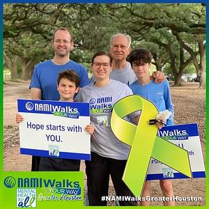 May 04, 2021 - NAMI Walks Your Way Greater Houston Virtual Experience