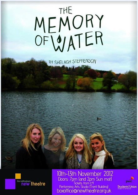 The Memory of Water poster