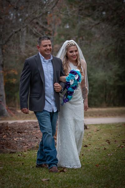 Bailey and Chris Wedding