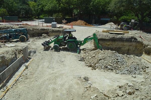 Campus Construction.August 2016