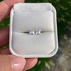 1.47ctw Carre Cut Diamond Pair GIA F VS2 19