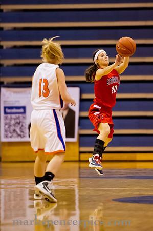 Basketball Girls SHS vs Timpview 1-24-2012