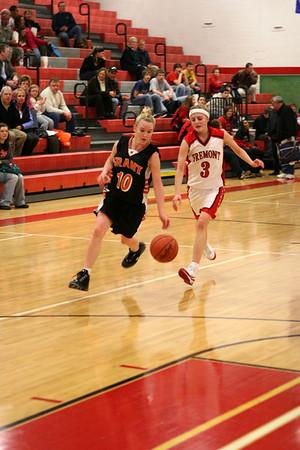 Girls JV Basketball - 2008-2009 - 2/26/2009 Grant