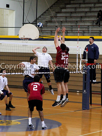 2012 La Serna Boys Volleyball vs Montebello 03/01