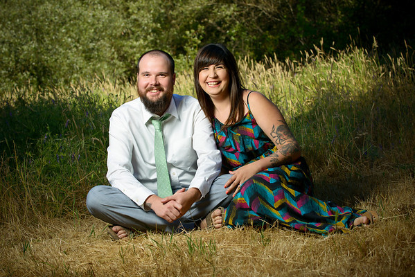 Stefan and Jennifer - Engagement Photography, Henry Cowell, Felton, California