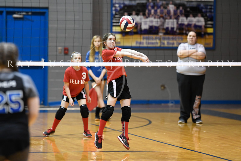 03/12/2019 BMS Volleyball vs. Phelps