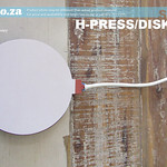 SKU: H-PRESS/DISK15, Φ150mm+ Round Disk Heating Pad (for 10 Inch/250mm+ Plates) Attachment for Heatware Heat Press