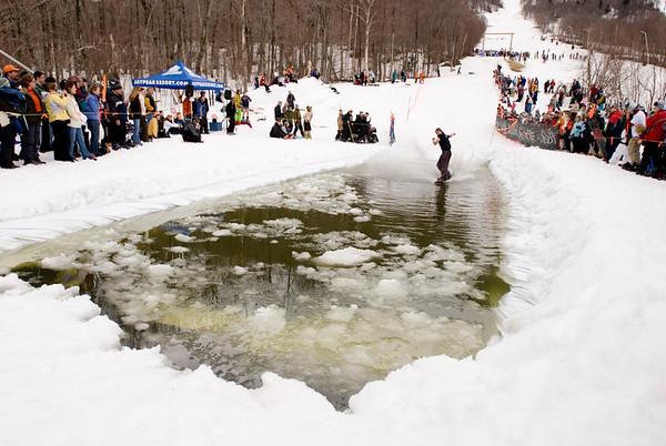 Jay Peak Pond Skimming Competition