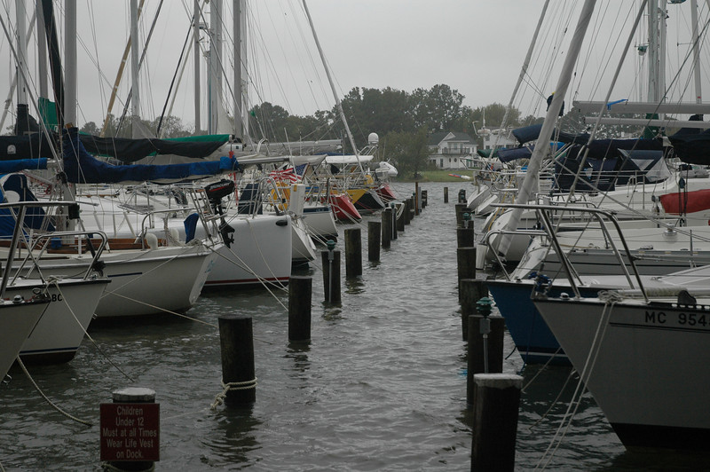 Jackson Creek dock.