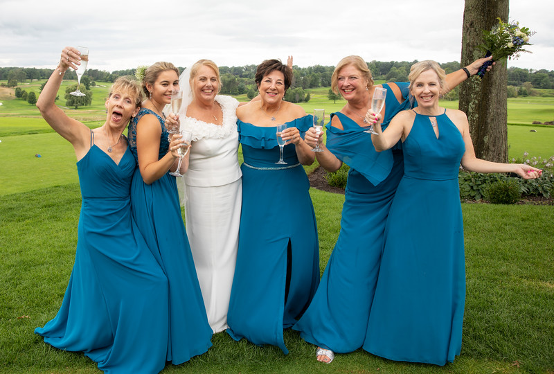 Bride and Bridesmaids goofing.jpg