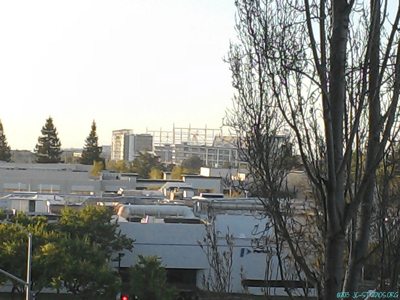 03/23/2013 - 49er Stadium. The shape is formed....