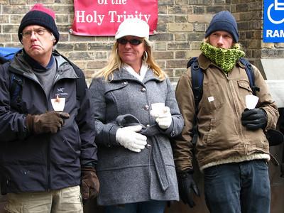Homeless Memorial Vigil - December 2012