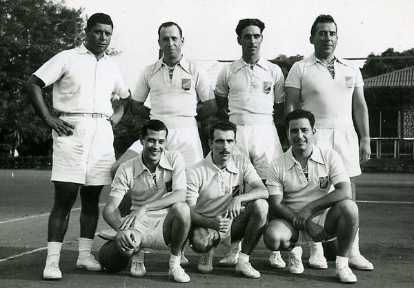 Dinis (Samokinda), António Rocha , Franco e Rosendo. Vitor Santos, ?, Vidal Ramos