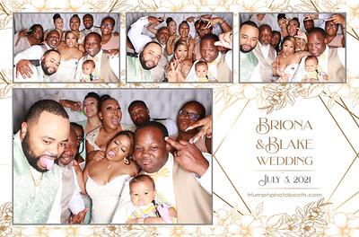 7/3/21 - Briona & Blake Wedding