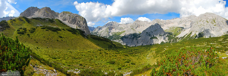 Karwendel hiking 2008-08-26