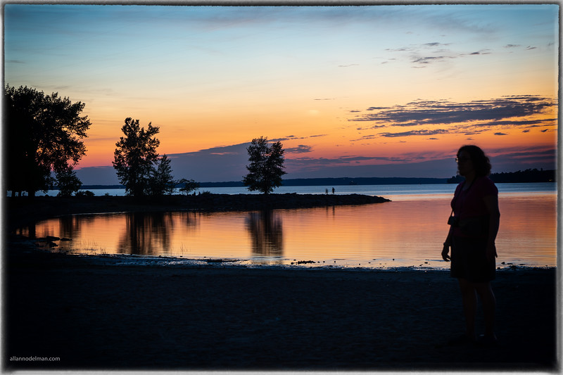 Jessie Watching the Sunset