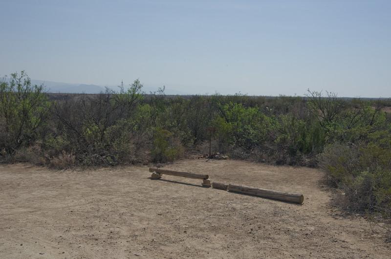 Grapevine Hills Campsite #4