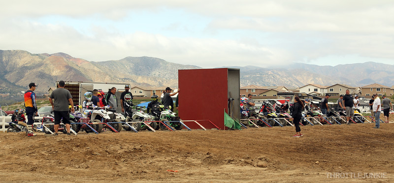 Dirt Series Lake Elsinore MX track