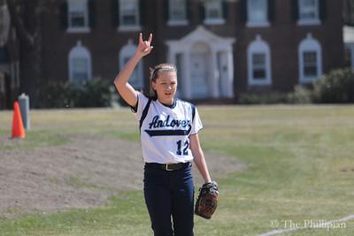 Softball vs. Andover High School 4/6/13