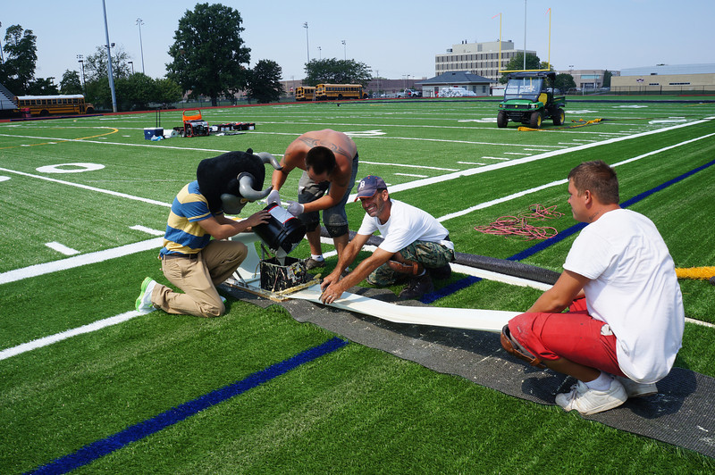 Longhorn-Visits-Field-Turf-Installation-at-Lutheran-West-Alumni-Field-2012--005.jpg