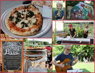 Troy Community Farms Pizza Night July 7th & 28th 2016
