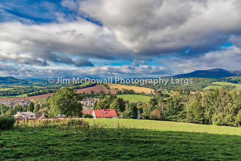 Crieff Hillside Scotland