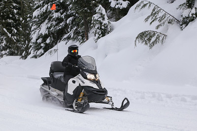 Wed Snowmobile