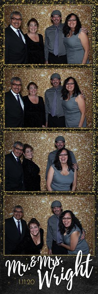 2020-01-11 Timberlake Lodge Wedding Photo Booth