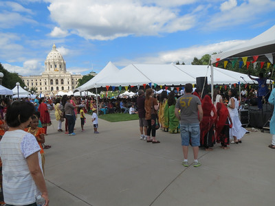 India Fest in St. Paul, Minnesota 2013