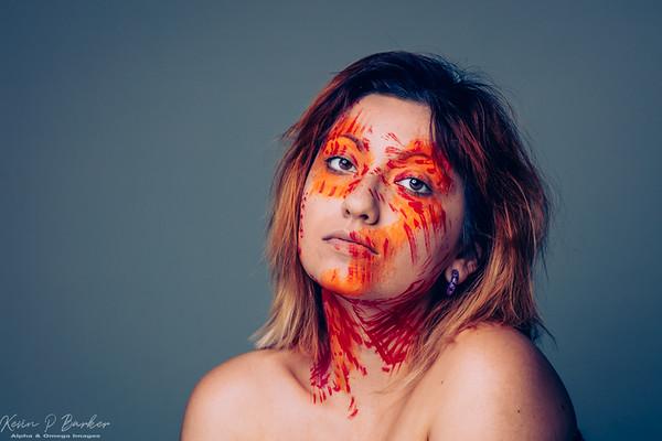 Ashley -  - Makeup Shoot